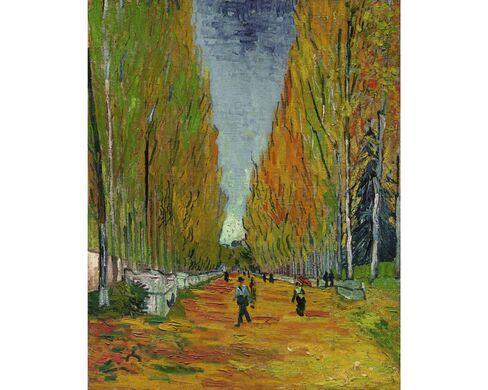 Vincent van Gogh, L'Allée des Alyscamps, 1888
