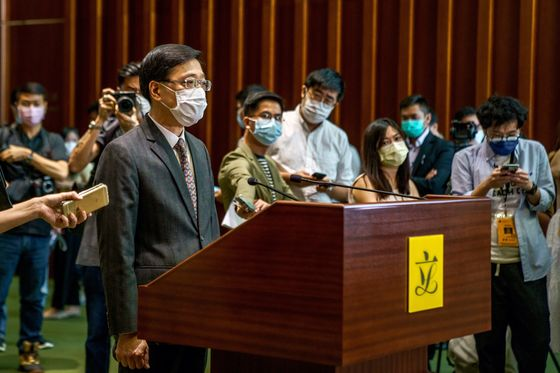 Hong Kong Warns HSBC, Citi Bankers of Jail Over Lai Accounts