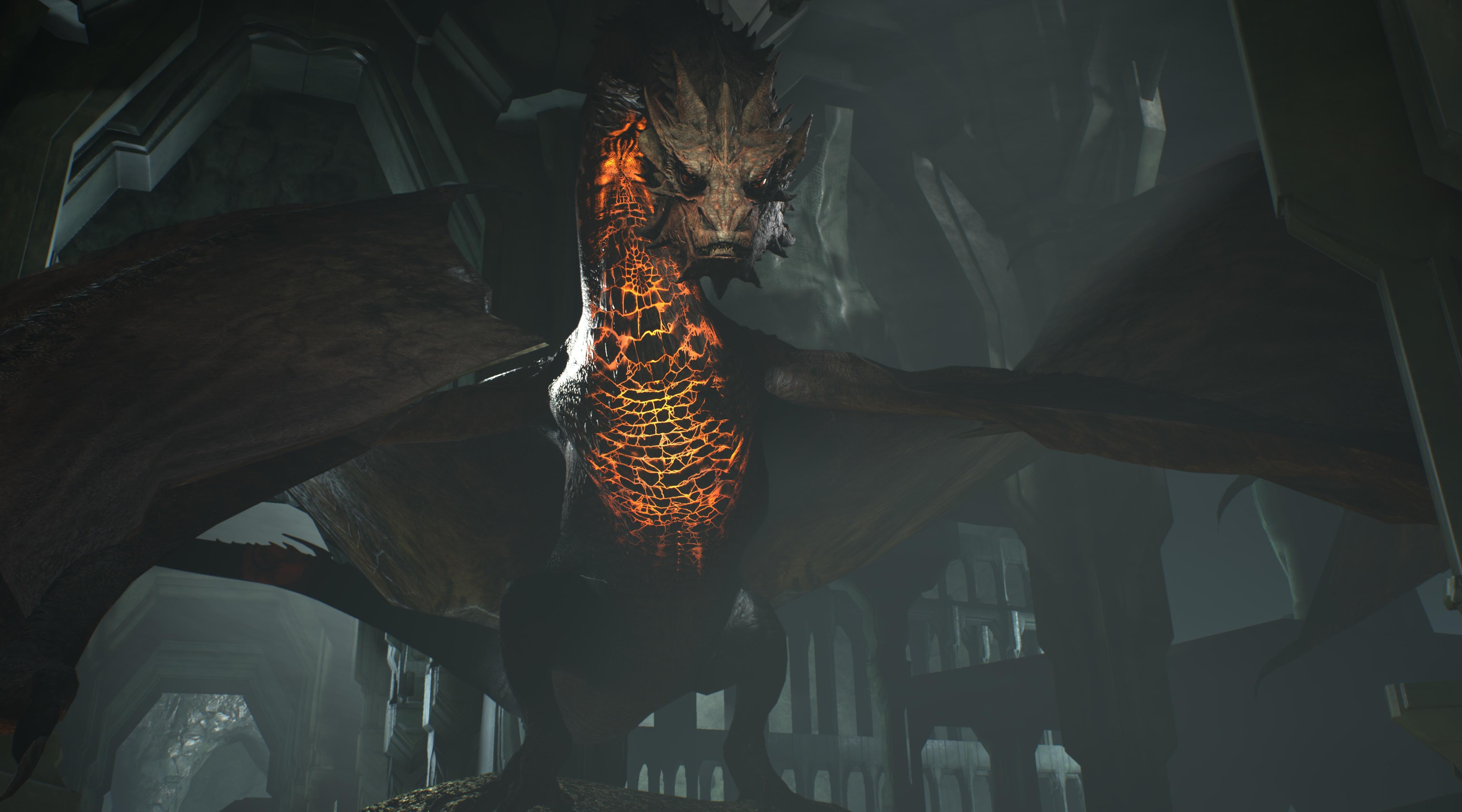 Dragon Smaug Hunts Bilbo Baggins In Virtual Reality Game