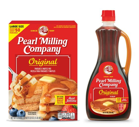 PepsiCo Rebrands Its Aunt Jemima Syrup and Mix as Pearl Milling