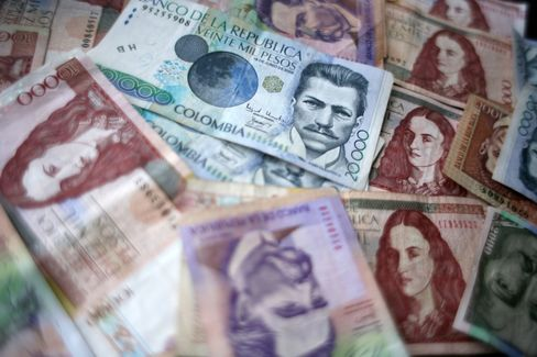 Talking Down Colombian Peso Seen Marking Peak
