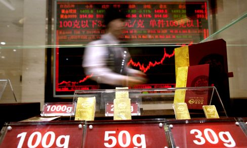 China Gold Hoarding Turns Traders Most Bullish in Two Months