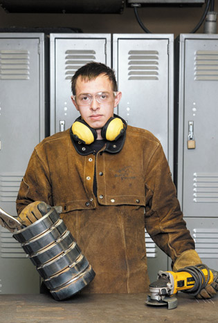 Hobart student Lance Busch