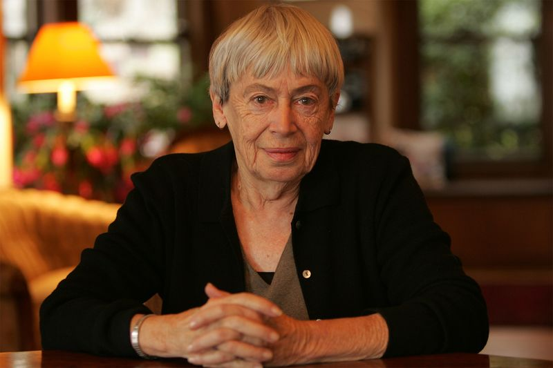 Image result for Ursula K. Le Guin, Best-Selling Science Fiction Author Passes Away