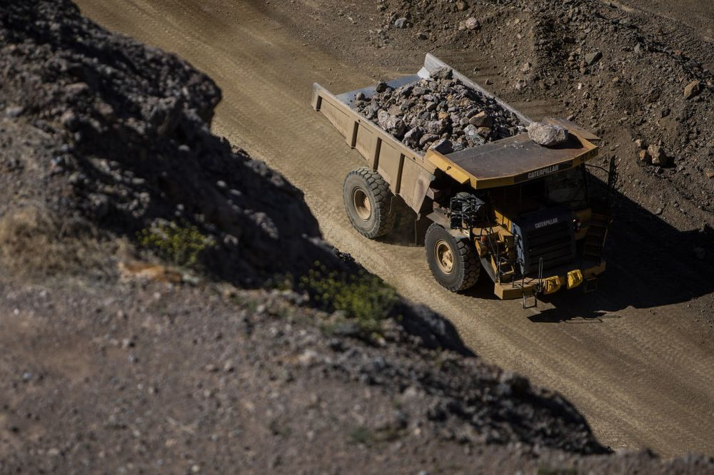 The U.S. has only one operating rare-earths mine.