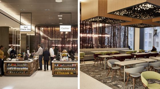 Inside Citigroup's Revamped Headquarters: Breakfast Pizza, Pelotons andUnassigned Seating