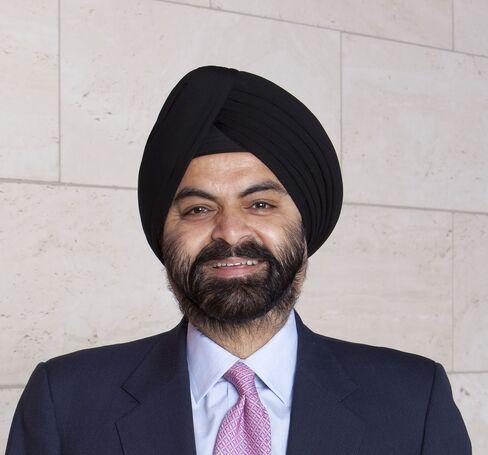 MasterCard Inc. Chief Executive Officer Ajay Banga