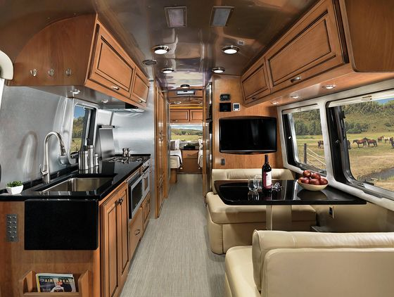 Airstream Gets Smart, But Stays Retro