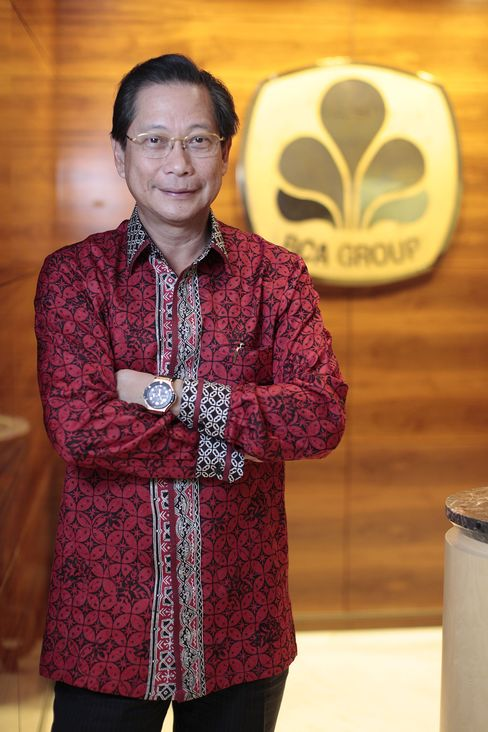 Bank Central Asia President Director Jahja Setiaatmadja