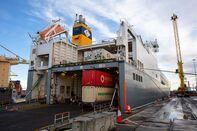 Shipping Operations at Dublin Port