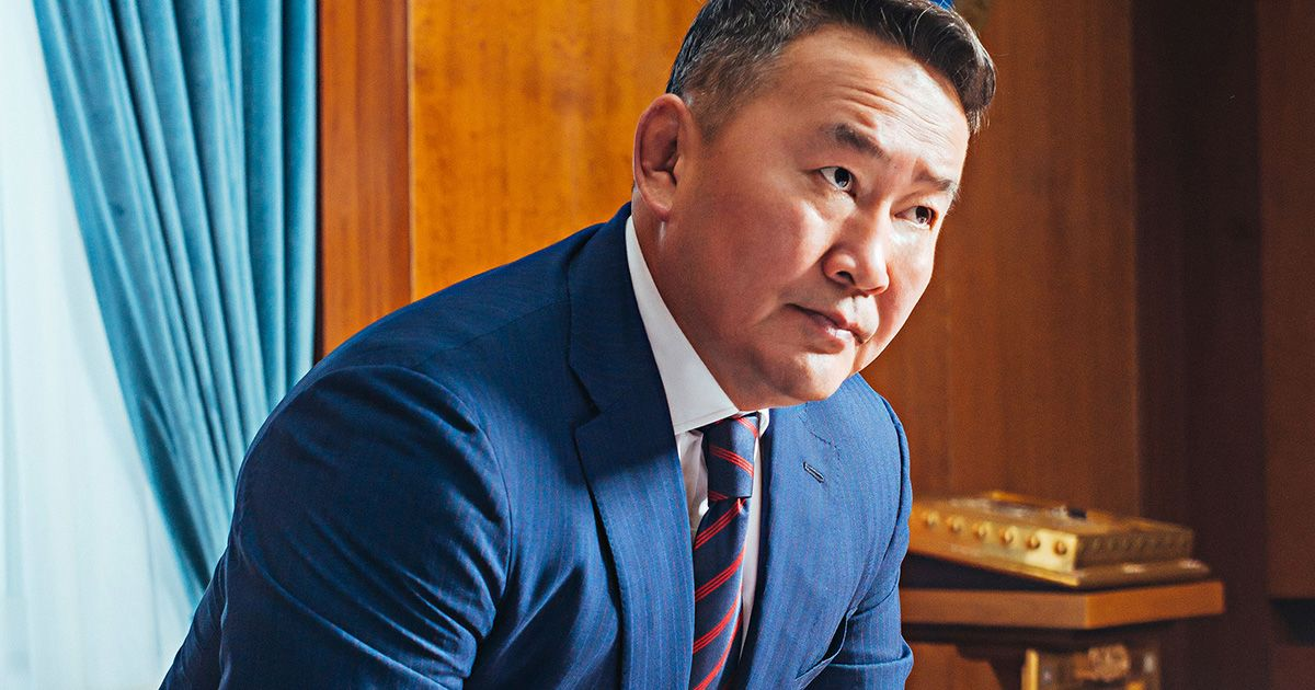 Mongolia's President Is a Genghis Khan-Idolizing Trump of the Steppe