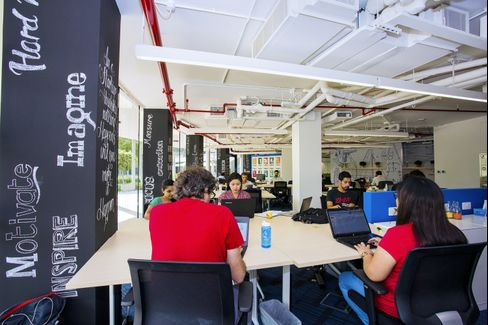 AstroLabs co-working space in Dubai.