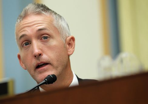 Representative Trey Gowdy is pictured on June 11, 2014, in Washington.
