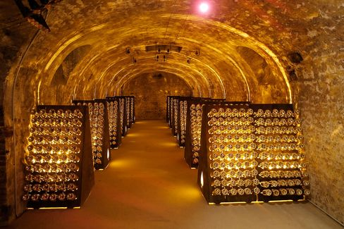 The wines are made by the Cattier Champagne house, in the village of Chigny-les-Roses in the Montagne de Reims area of Champagne.