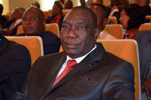 Central African Republic Rebel Leader Michel Djotodia