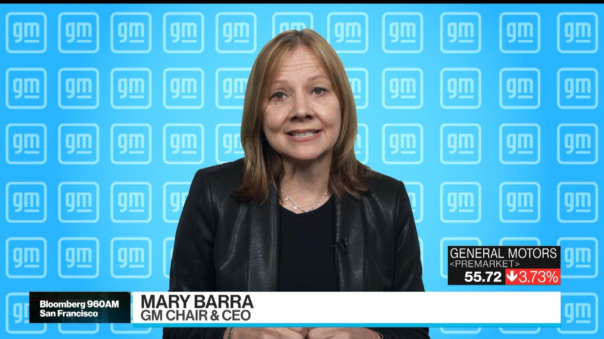 GM CEO Barra on Bolt Recall, Chip Shortage, EV Demand