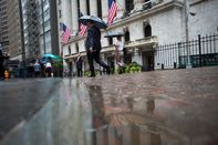 Trading On The Floor Of The NYSE As U.S. Stocks Heading for Sixth Straight Down Day