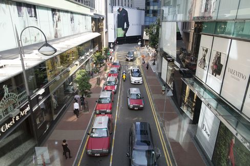 Taxis Outside Lee Gardens