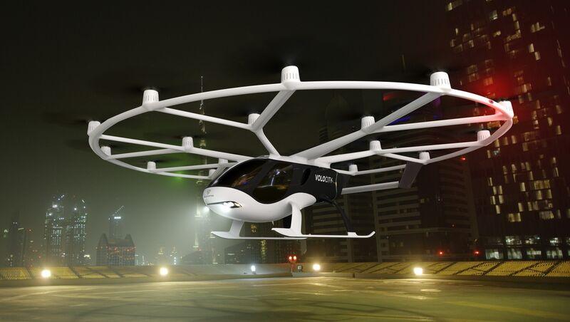 Volocopter's VoloCity model