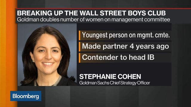 She's Joining Goldman's Most Elite Tier, as Its Youngest Banker
