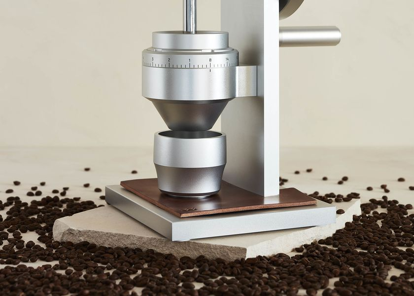 relates to This $1,495 Coffee Grinder Makes You Work for a Great Brew