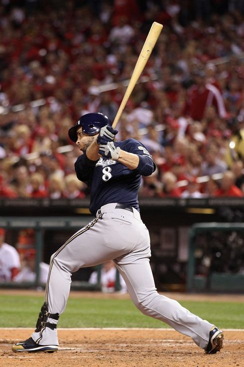Brewers Beat Cardinals 4-2 in NL