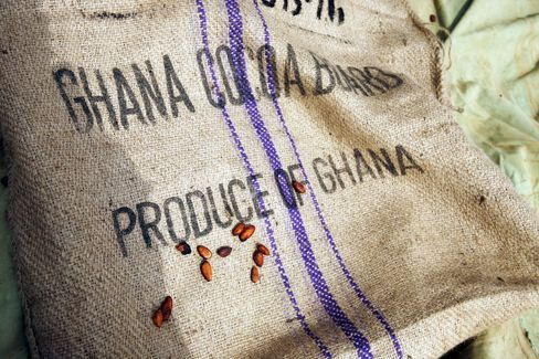 Empty Cocoa Sacks Herald Ghana's Worst Cocoa Crop in Six Years