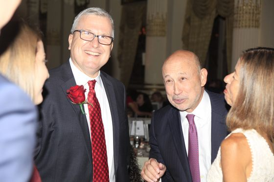 Lloyd Blankfein Spent His Last Night as Goldman Sachs CEO at a Cancer Benefit