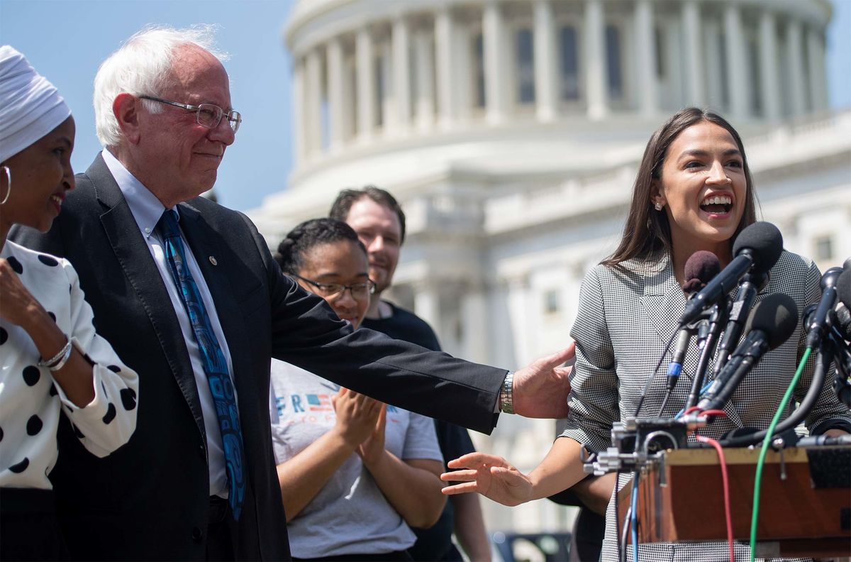 Biden, Sanders Unveil Policy Groups Including AOC, Kerry, Holder