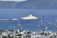 Mega Yacht ''Scheherazade'' anchors in Turkey's Mugla