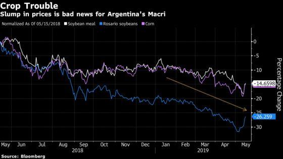 Trade-War Crop Rout Imperils Argentina's Bid to Revive Economy