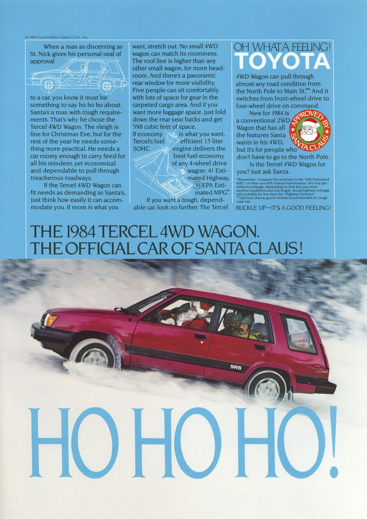 1980's Toyota Tercel Advertisement Art & Collectibles Collectibles ...