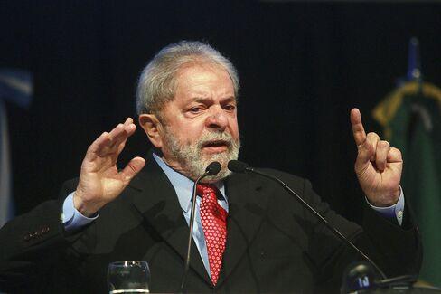 ARGENTINA-BRAZIL-LULA