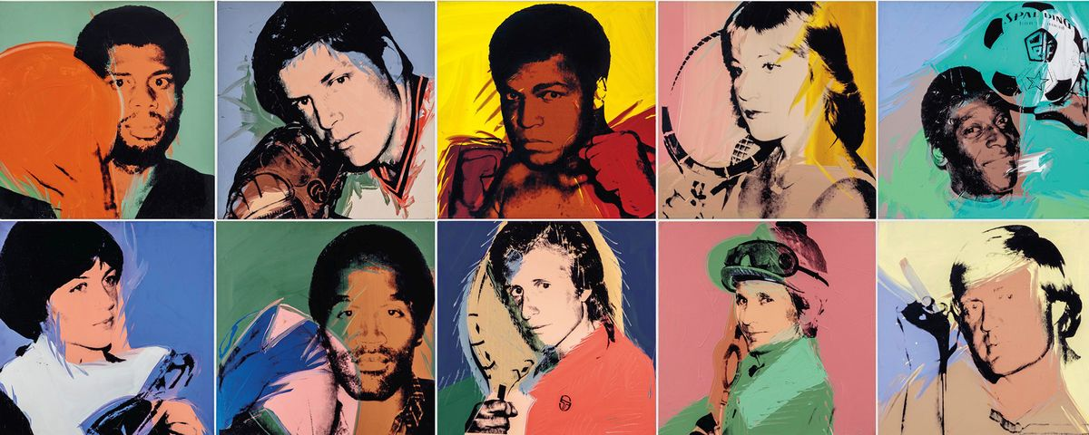 Muhammad Ali Leads Lineup of Andy Warhol Athlete Portraits Going on Sale