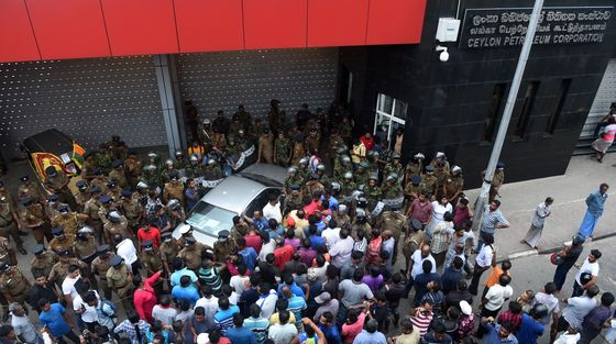 'Bloodshed' Warning as Protests Swell in Sri Lanka's Capital