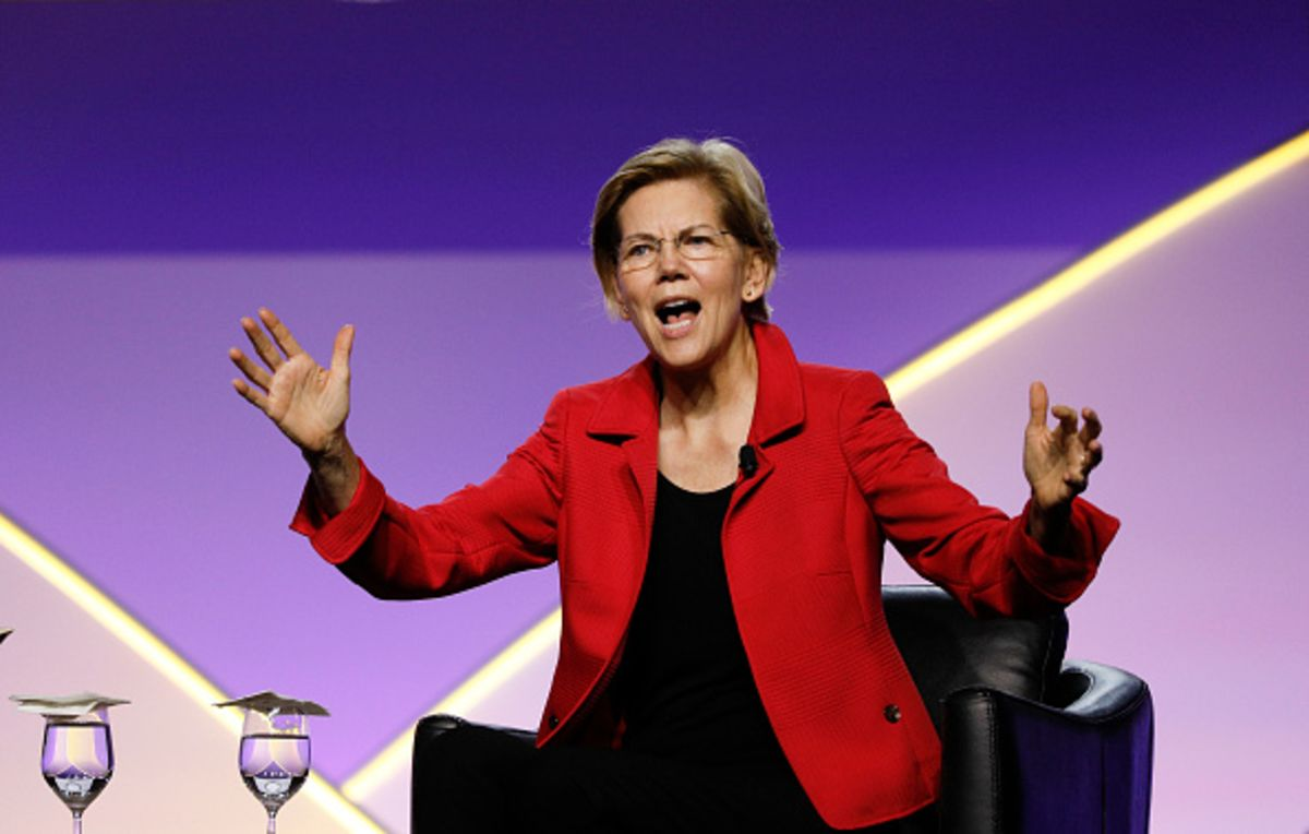 Elizabeth Warren Vows to Be First Nominee to Forgo High-Dollar Fundraisers