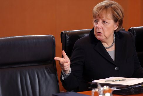 Weekly German Government Cabinet Meeting