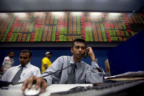 Emerging Stocks Top Developed World