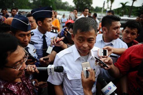 Indonesia's Transportation Minister Ignasius Jonan. Photographer: Robertus Pudyanto/Getty Images