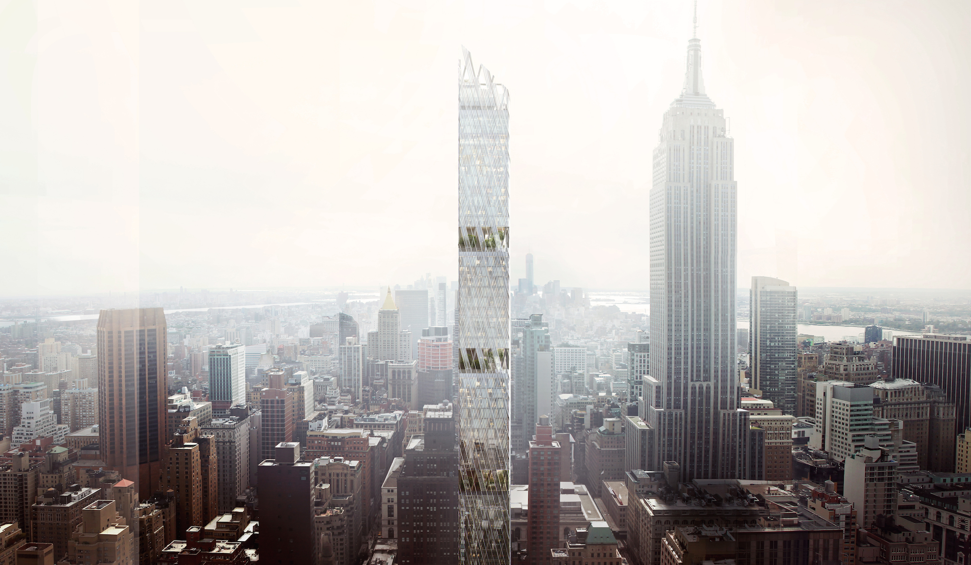 A New York Skinny Skyscraper Will Have Built In Parks
