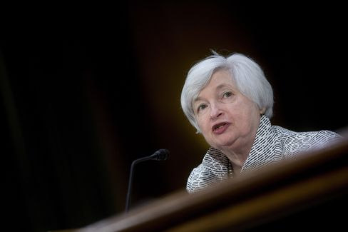 The U.S. Federal Reserve Chair Janet Yellen