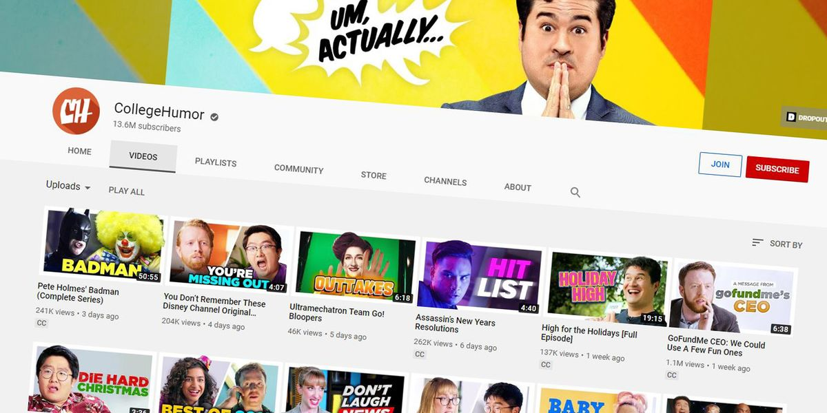 IAC to Sell CollegeHumor, Which Will Cut Most of Its Workers