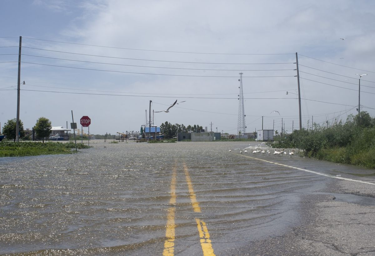 Already Braced for Covid-19, Towns Watch the Rising Mississippi With Fear