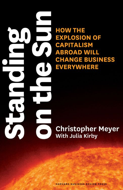 Standing on the Sun Book Cover