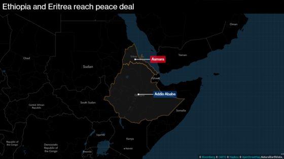 Once Bitter Foes, Ethiopia and Eritrea Promise 'Bridge of Love'