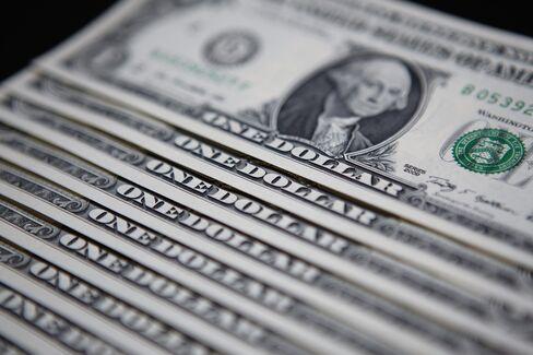 Dollar Climbs as European Stocks Fall Before U.S. Budget Talks
