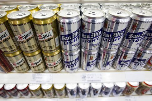 San Miguel Bids to Acquire Unspecified $5 Billion Target
