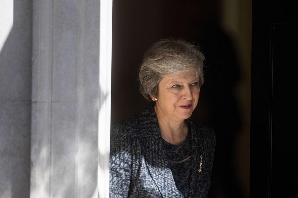 May Dealt Brexit Setback as Article 50 Sent to EU Highest