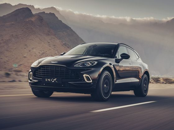 Aston Martin's Debut SUV Helps Quadruple Carmaker's Revenue