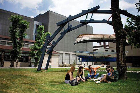 Laureate's college in Turkey